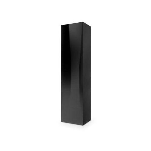 Tres szafka wisząca długa czarna wysoki połysk