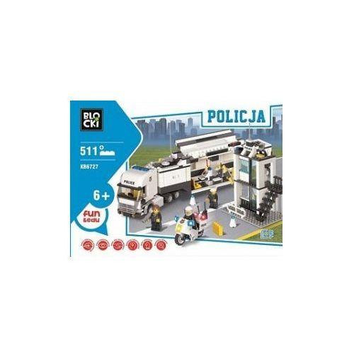 Icom Klocki blocki policja centrum dowodzenia 511 elementów