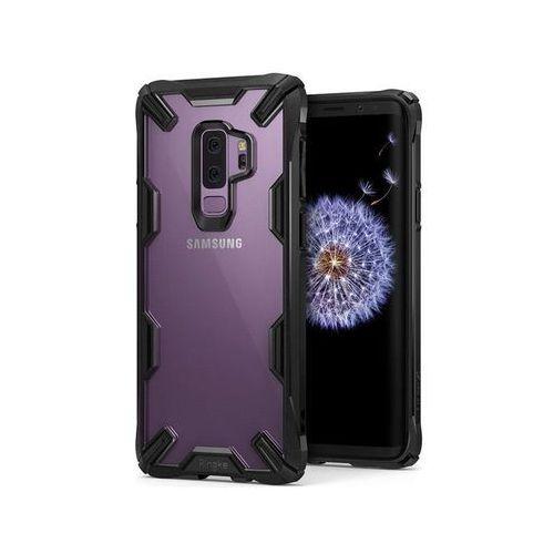 Etui Ringke Fusion X Samsung Galaxy S9+ Plus black, kolor czarny