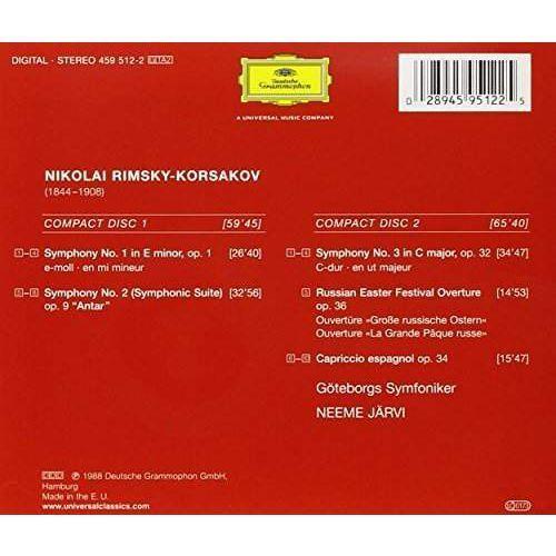 Deutsche grammophon Symphonies 1-3 (0028945951225)