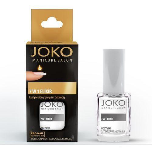 manicure salon odżywka do paznokci 7w1 eliksir odżywczy 10 ml - joko marki Joko