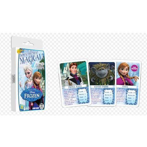 Gra - top trumps kraina lodu gdzie kryje się magia marki Hasbro