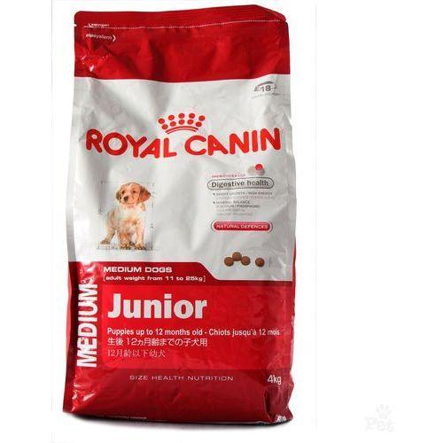 Karma Royal Canin Dog Food Medium Junior 15kg + DOLINA NOTECI PIPER z płucami jagnię,march 400g 3182550402132 - odbiór w 2000 punktach - Salony, Paczkomaty, Stacje Orlen