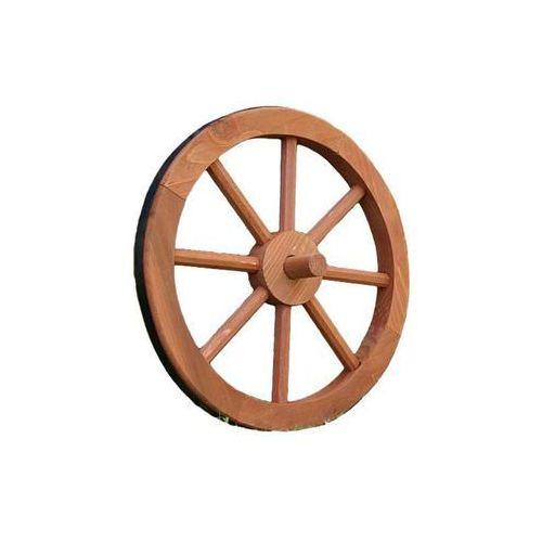 Koło drewniane Ghana Garth - stylowa rustykalna dekoracja 35 cm