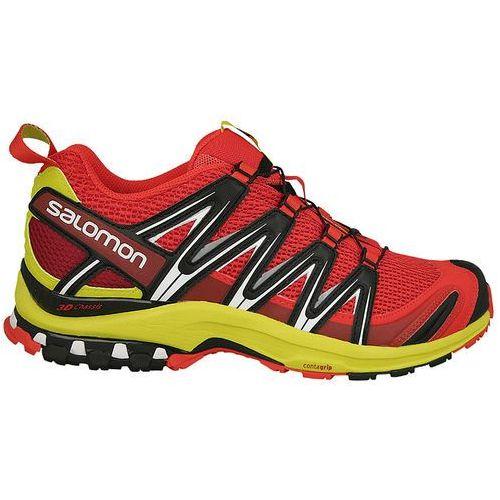 Buty do biegania męskie Salomon XA PRO 3D (392517) - czerwony, kolor czerwony