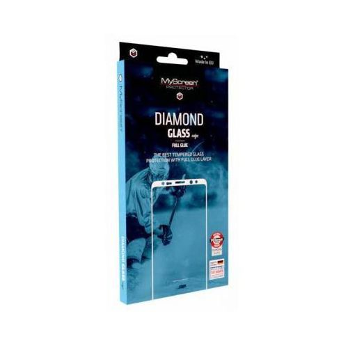 Myscreenprotector Ms diamond edge fg honor 10 lite czarny/blackfull glue