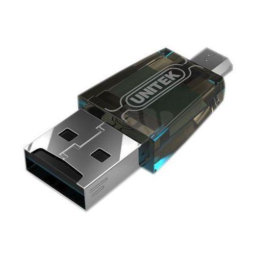 Czytnik kart microsd - usb / micro usb otg y-2212 do smartfonów, tabletów, komputerów marki Unitek