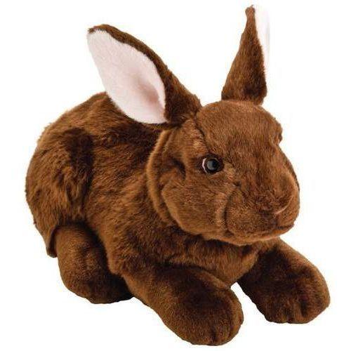ciemnobrązowy króliczek 31 cm marki Suki