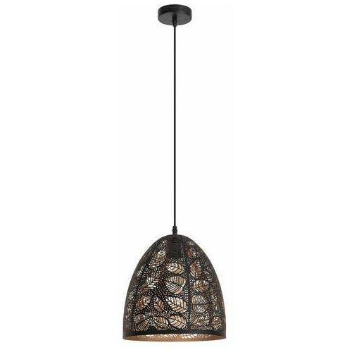 manorca 2277 lampa wisząca zwis 1x40w e27 czarna marki Rabalux