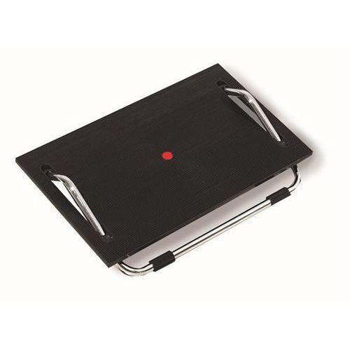 Podnóżek z funkcją przechylania, powierzchnia podestu z pałąkiem stalowym, bezst marki Twinco