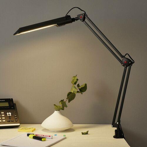 Alco Lampa do pracy z zaciskiem stołowym, czarny