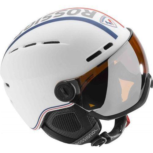 Rossignol visor - single lens biały m/l (53-57cm) 2017-2018 (3607682028710)