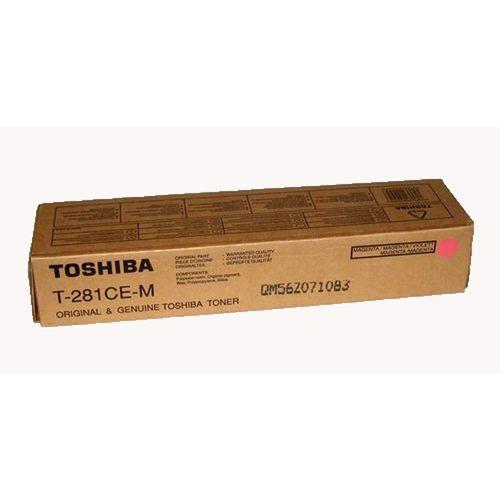 Toner t-281ce-m magenta do kopiarek toshiba (oryginalny) [10k] marki Toshiba