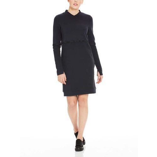 Bench - color block sweat dress black beauty (bk11179)