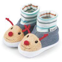 buciki niemowlęce bobby + rudi, kolor stalowoniebieski marki Sterntaler