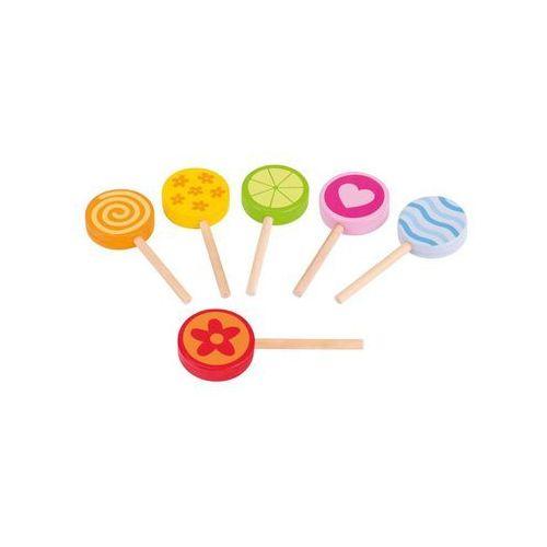 Kolorowe lizaki do zabawy dla dzieci zestaw 6szt. marki Goki