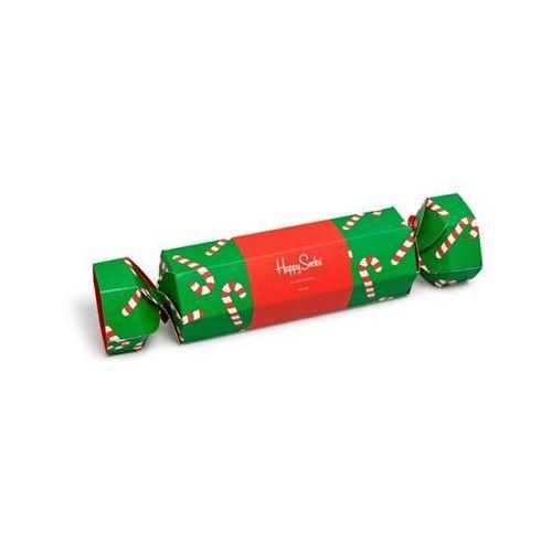 Skarpetki giftbox big dot cracker (2-pary) sxpol02-7300 - zestaw świąteczny - multicolor marki Happy socks
