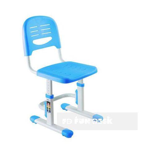 Fundesk Sst3 blue - ergonomiczne krzesełko dziecięce z regulacją wysokości fun desk