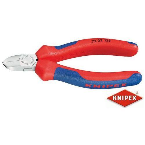 Knipex obcinaczki boczne do tworzywa sztucznego 125mm, dwukomponentowe (72 02 125) (4003773044215)