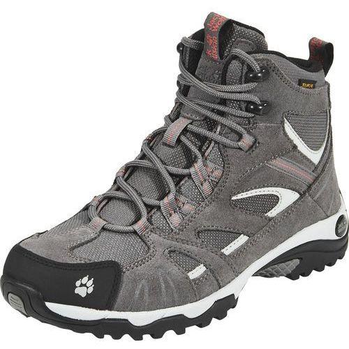 Jack wolfskin vojo hike mid texapore buty kobiety szary 37 buty turystyczne