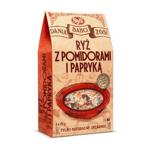 Ryż z pomidorami i papryką 2x125g SYS