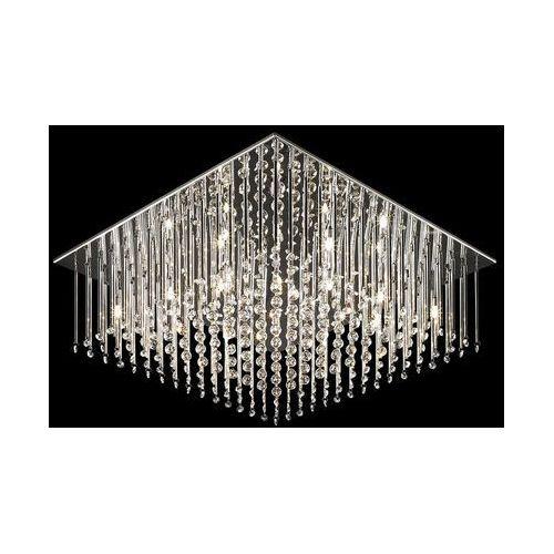Italux Plafon angel mx62703-12a oprawa lampa sufitowa 12x20w g4 chrom/kryształ (5900644330653)