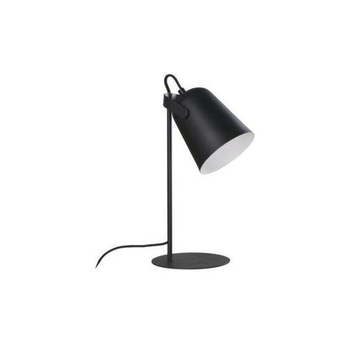 Stojąca LAMPA biurkowa SIRI LP-4227/1T BLK Light Prestige metalowa LAMPKA stołowa czarna, kolor Czarny
