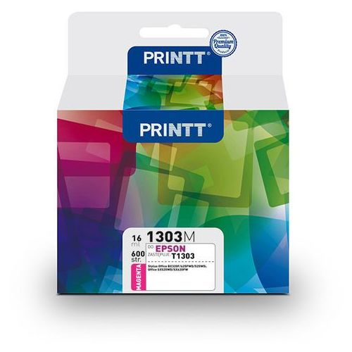 Tusz PRINTT do EPSON NAE1303M (T1303) magenta 16 ml