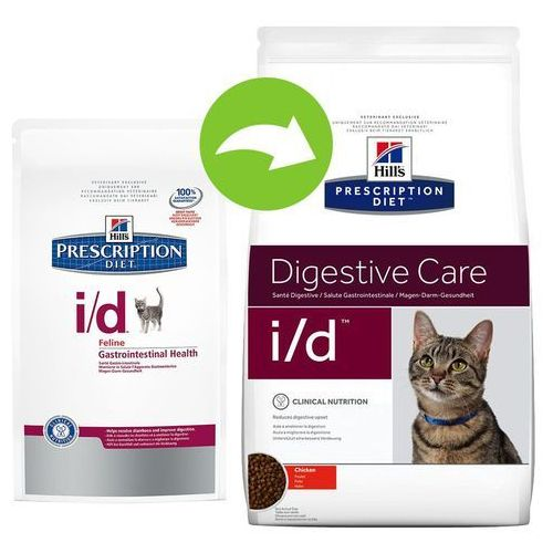 Hills Prescription Diet Feline i/d Digestive Care - 2 x 5 kg | Dostawa GRATIS! (0052742466309)