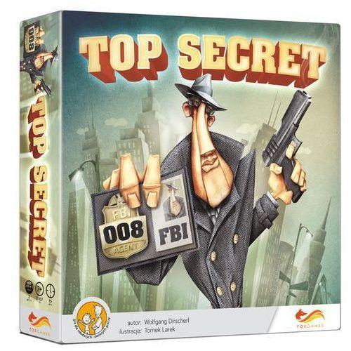FOXGAMES Gra Top secret