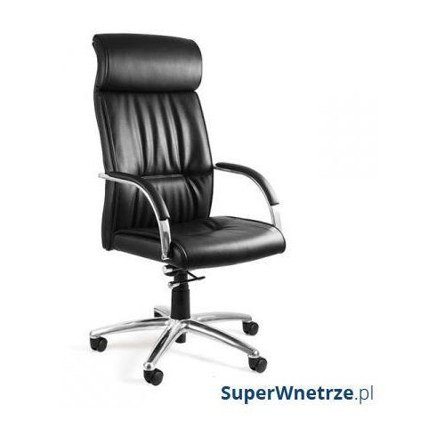 Unique Fotel biurowy brando pu skóra ekologiczna czarny