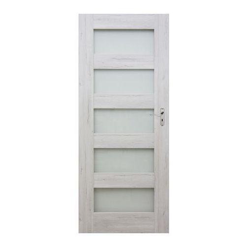 Drzwi pokojowe Winfloor Emma 80 lewe silver, EMSV/PK 80L