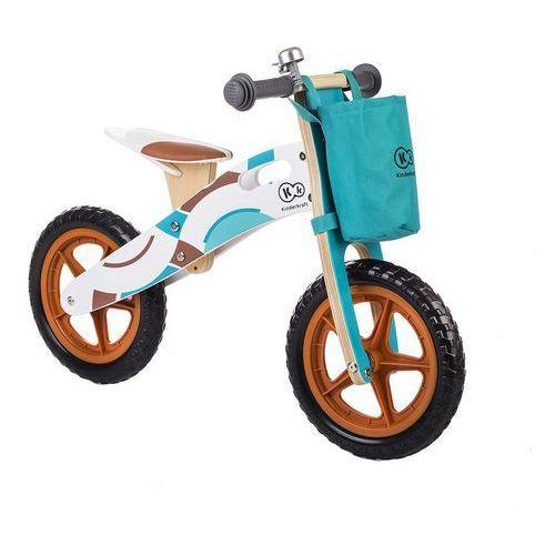Rowerek biegowy Runner Adventure z akcesoriami - KinderKraft (5902533905201). Tanie oferty ze sklepów i opinie.