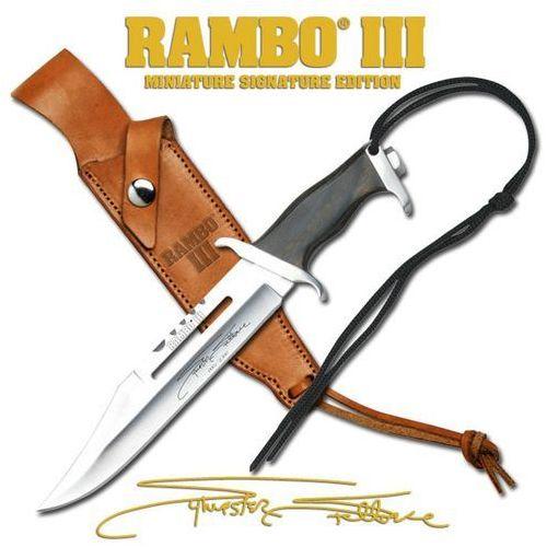 Usa Miniaturowy nóż z filmu rambo iii licencjonowany (mc-rbm3ss)