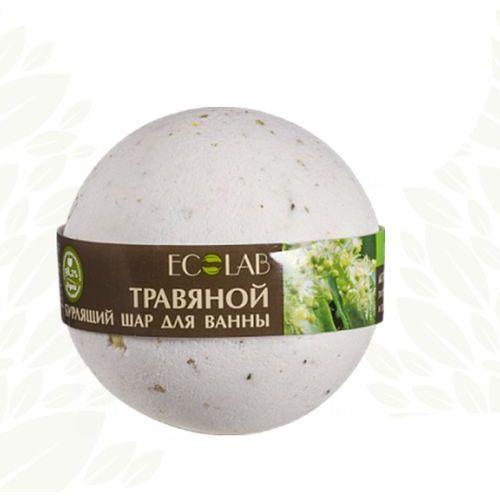 EO LABORATORIE - musująca kula do kąpieli - naturalna - ziołowa - kwiat lipy