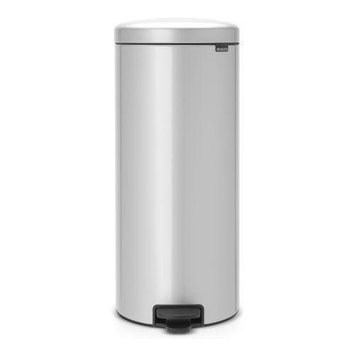 Kosz łazienkowy Brabantia newIcon 30l metallic grey ze stalowym wiaderkiem