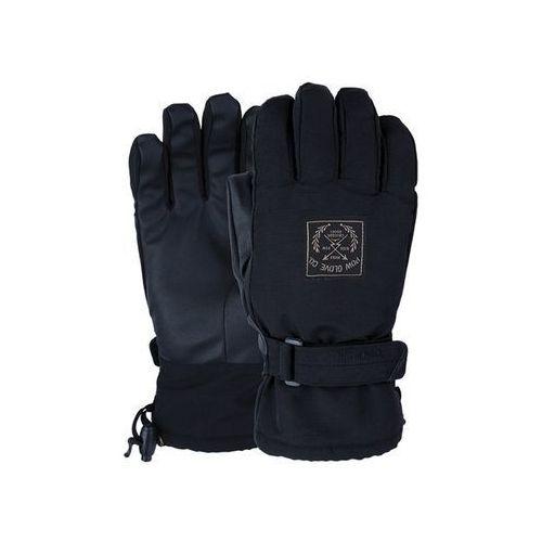 Pow Rękawice snowboardow - xg mid glove black (bk) rozmiar: l