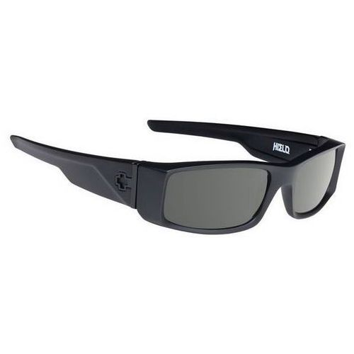 Okulary Słoneczne Spy HIELO Polarized SOFT MATTE BLACK - HAPPY GREY GREEN POLAR, kolor zielony
