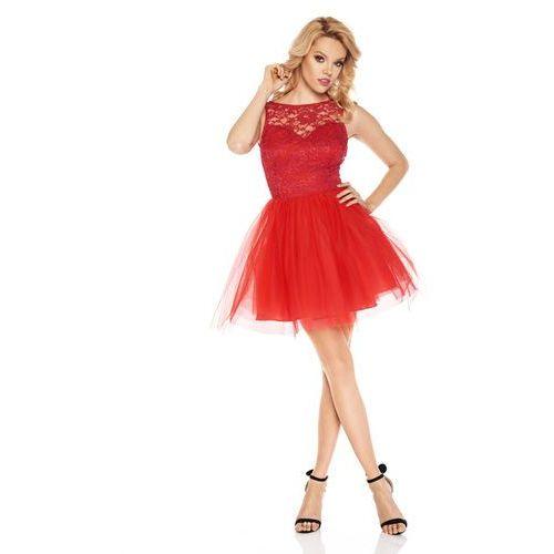 Sukienka virginia w kolorze czerwonym marki Sugarfree