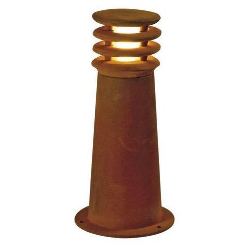 Spotline Rusty 40 led round lampa stojąca, corten, 8.6w cob led, 3000k, ip55, 233407