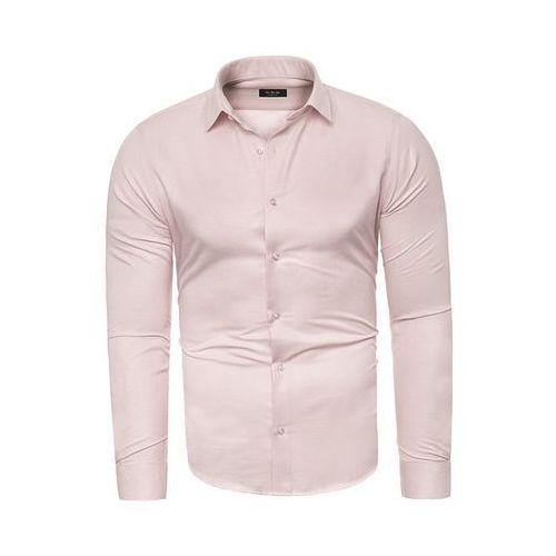 Koszula męska długi rękaw C.S.S 275 - jasny róż