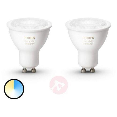 Philips hue white ambiance reflektor gu10 2 x 5,5w (8718696671184)