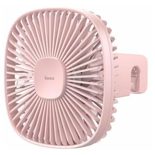 Samochodowy wentylator / wiatrak Baseus Natural Wind na zagłówek, magnetyczny (różowy) (6953156223806)