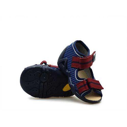 Sandałki dziecięce  250p046 niebieskie marki Befado
