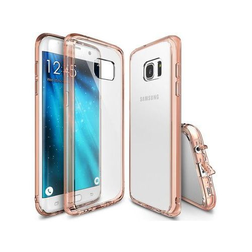 Etui Rearth Ringke Fusion Samsung Galaxy S7 Edge - Różowy (8809478822778)