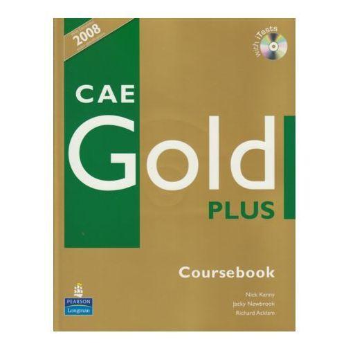 CAE Gold Plus Coursebook z płytą CD (2010)