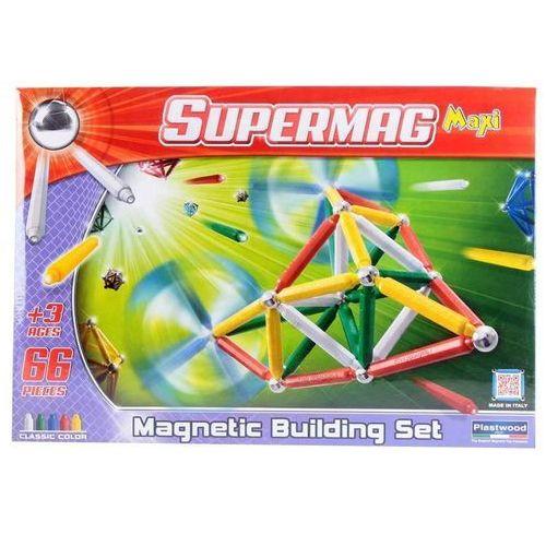 Klocki konstrukcyjne. SupermagMaxi Classic 66