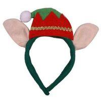Opaska elfa z uszami ozdoby i dekoracje świąteczne marki Gama ewa kraszek