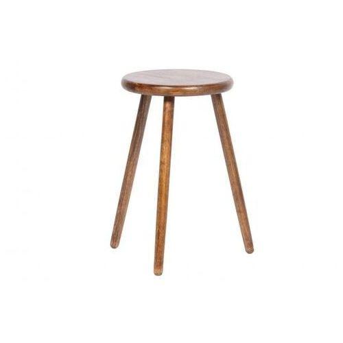 Woood stół dla roślin malon orzech włoski 50 cm 373334-w