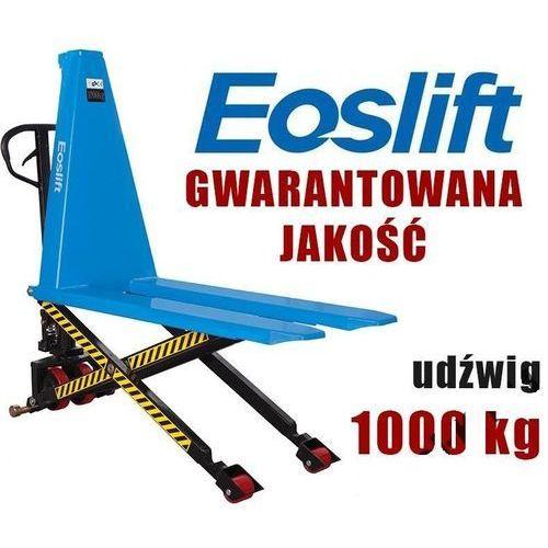 WÓZEK PALETOWY PALECIAK WIDŁOWY NOŻYCOWY KRZYŻOWY MAKTEK Eoslift SLT10 1T 1000KG 1150mm GERMANY